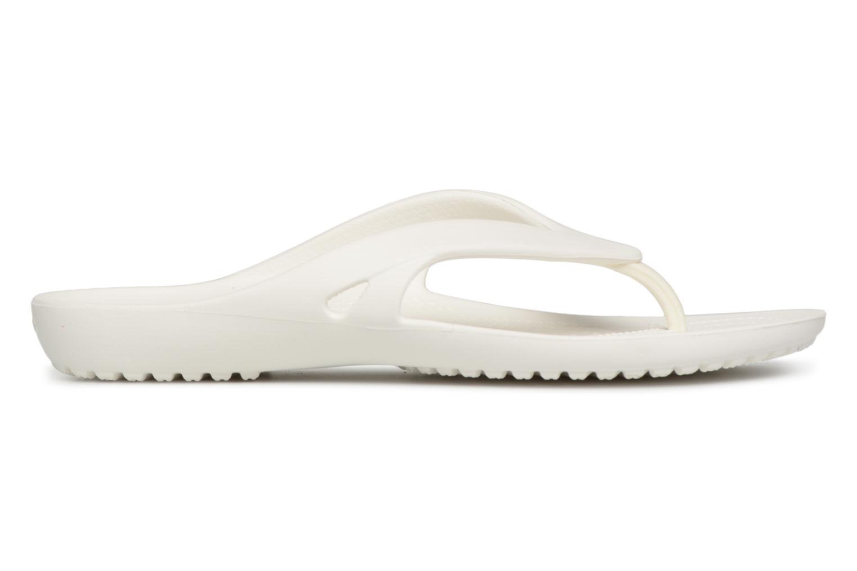 Tongs Crocs KadeeIIFlipW Blanc vue derrière