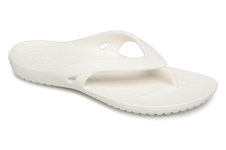 Tongs Crocs KadeeIIFlipW Blanc vue détail/paire