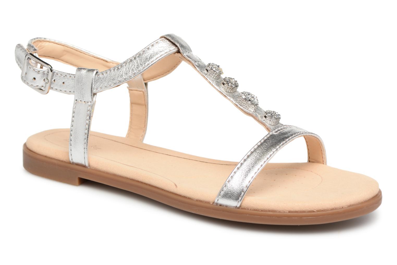 Descuento de la marca Clarks Bay Blossom (Plateado) - Sandalias en Más cómodo