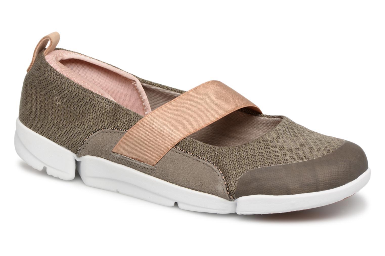 Los últimos zapatos de hombre y Tri mujer Clarks Tri y Allie (Verde) - Bailarinas en Más cómodo bc1663