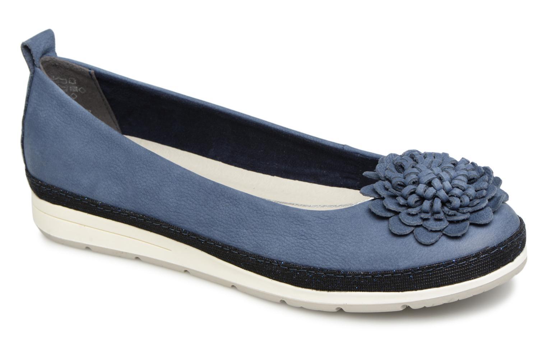 Zapatos promocionales Marco Tozzi 2-2-22121-20 892 (Azul) - Bailarinas   Venta de liquidación de temporada