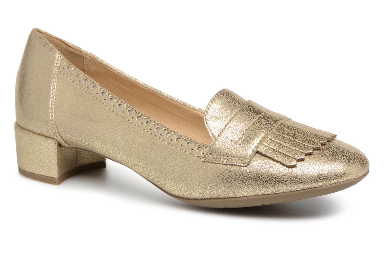 Zapatos promocionales Geox D CAREY C (Oro y bronce) - Zapatos de tacón   Gran descuento