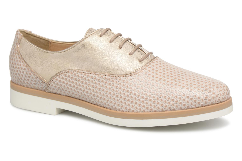 Grandes descuentos últimos zapatos Geox D JANALEE A (Beige) - Zapatos con cordones Descuento