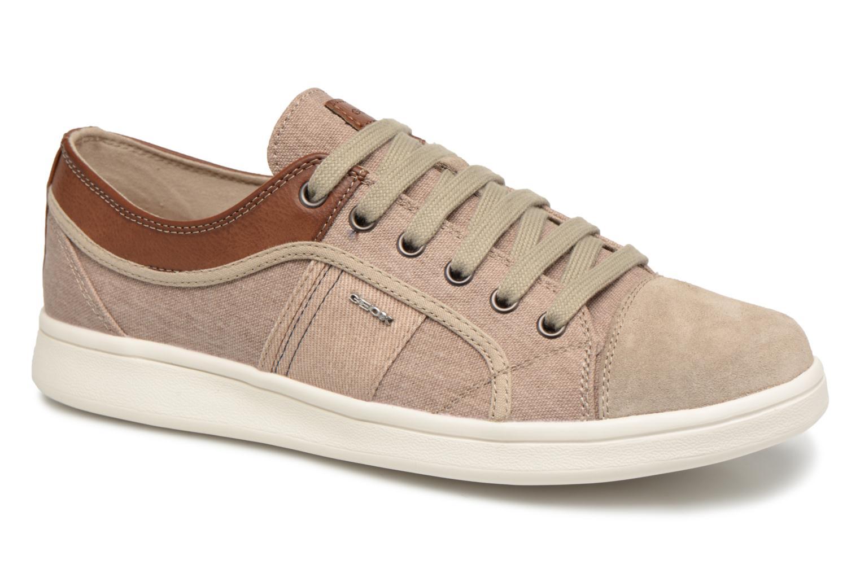 Zapatos de hombres y mujeres de moda casual Geox U WARRENS B (Beige) - Deportivas en Más cómodo