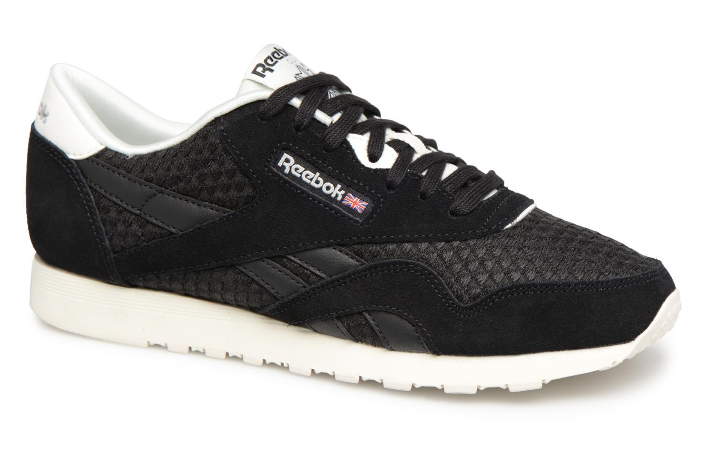 Zapatos promocionales Reebok Classic Nylon Mesh (Negro) - Deportivas   Los últimos zapatos de descuento para hombres y mujeres
