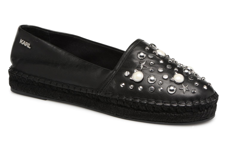 Zapatos promocionales Karl Lagerfeld Kamini Perle (Negro) - Alpargatas   Venta de liquidación de temporada