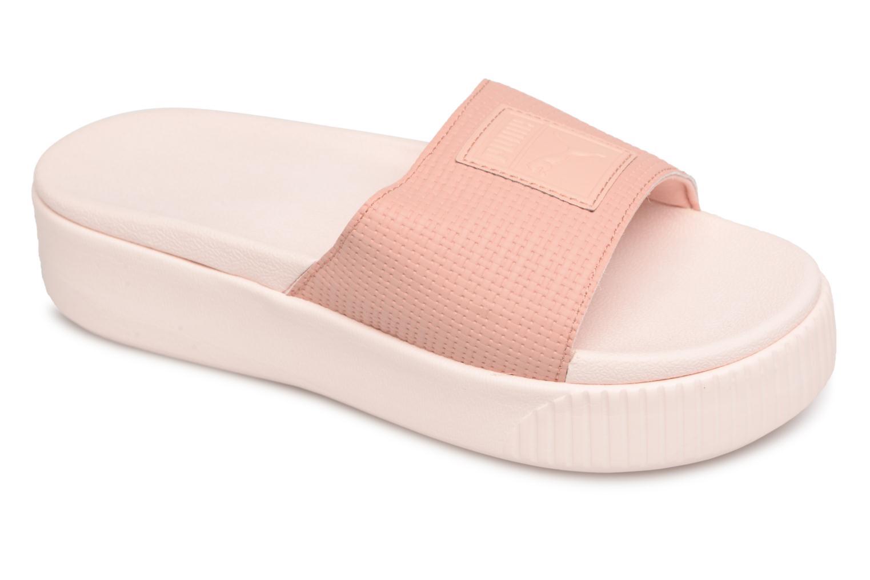 Zapatos promocionales Puma Platform Slide Ep Wn's (Rosa) - Zuecos   Cómodo y bien parecido