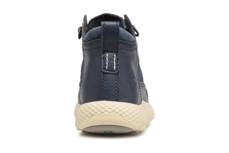Sneaker Timberland FlyRoam Leather blau ansicht von rechts