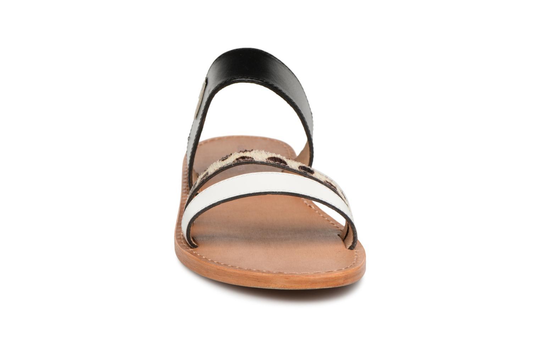 Mules et sabots Les Tropéziennes par M Belarbi Balboa Noir vue portées chaussures