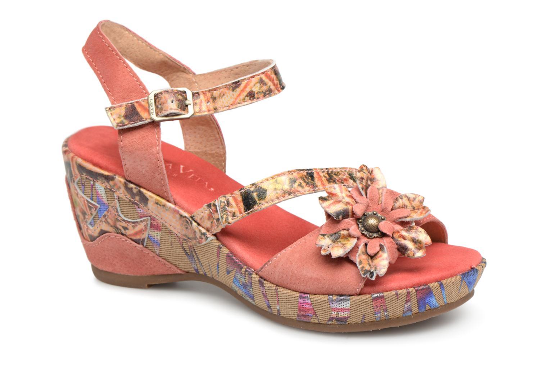 Grandes descuentos últimos zapatos Laura Vita Beaute 11 (Rojo) - Sandalias Descuento
