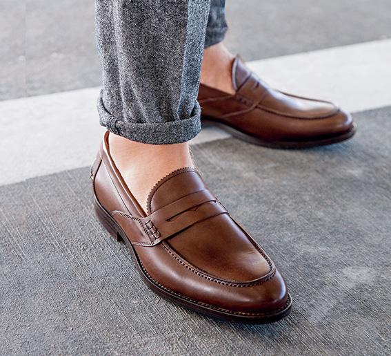 Male city shoes