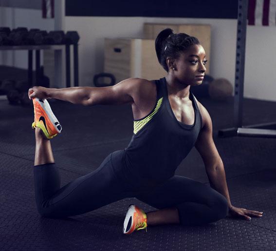 Nike training damesko