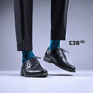 Lace-up shoes black I love shoes men
