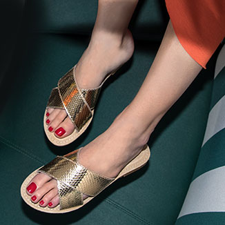 Scarpe Slippers e Ciabatte Donna
