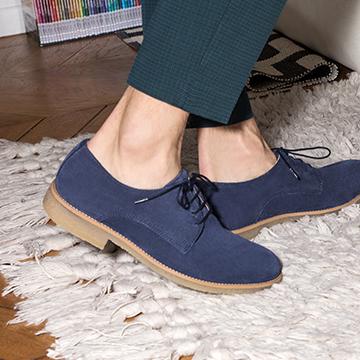 Schoen met rubberen zool Mr Sarenza