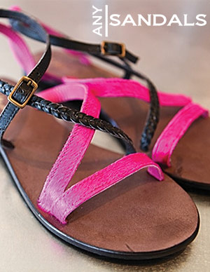 Any Sandals by Atelier Tropézien